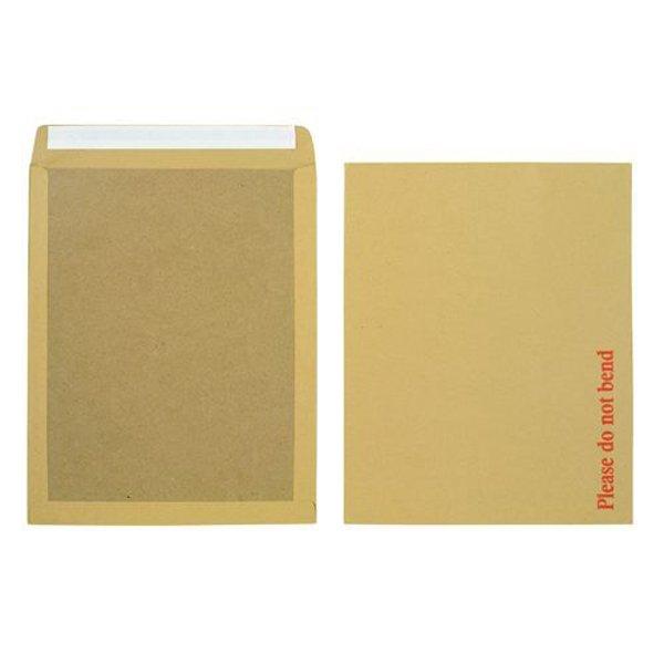 Initiative Envelope Boardbacked Peel n Seal 15.5x12.5 inches 115gsm Manilla (50 Pack)