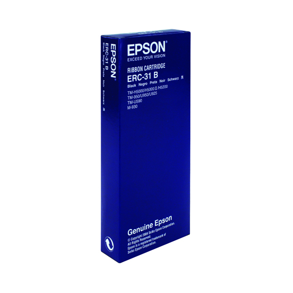 Epson ERC31 Black Fabric Ribbon C43S015369