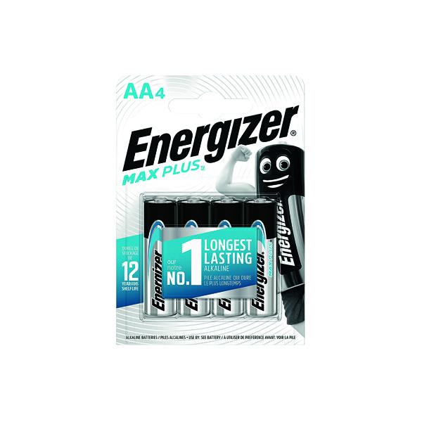 Energizer Max Plus AA Batteries (4 Pack) E301323600