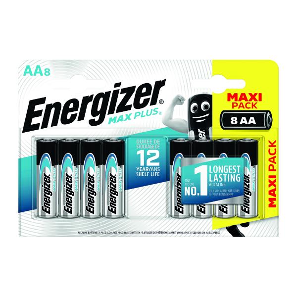 Energizer Max Plus AA Batteries (8 Pack) E301324600