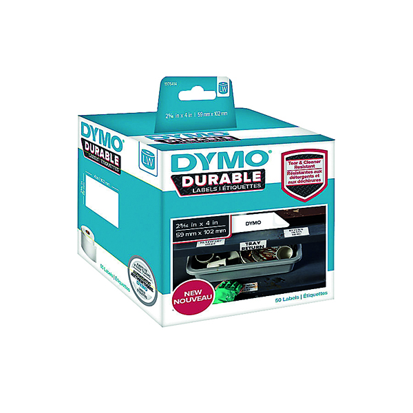 Dymo Durable Labels 59x102mm White 300 Labels 1933088