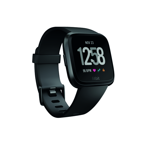 Fitbit Versa Black/Black Aluminium FB505GMBK-EU