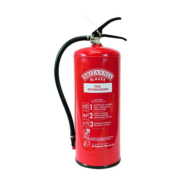 Fire Extinguisher Water 9Ls XWS9