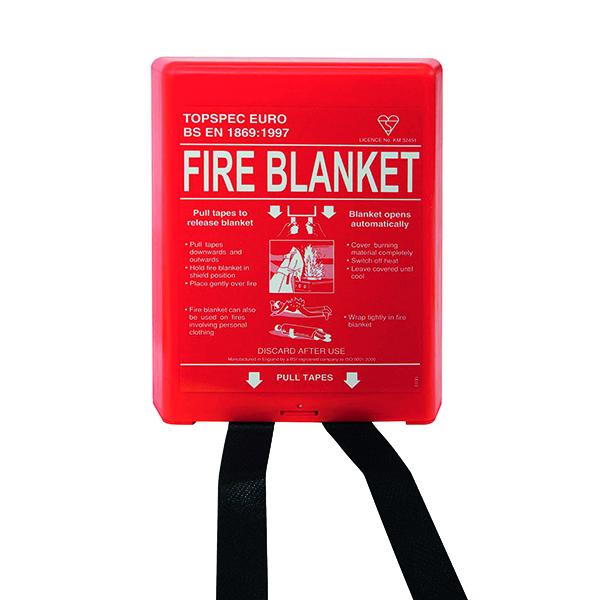 Fire Blanket Fibreglass 1000x1000mm FB110