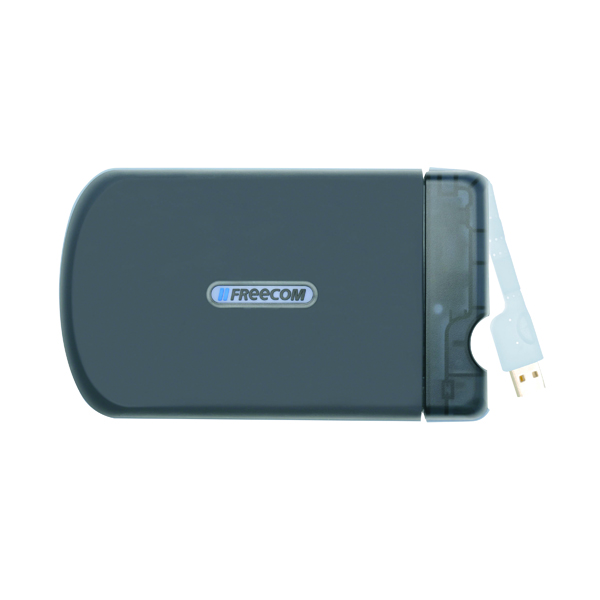 Freecom Tough Drive 1TB USB External Hard Disk Drive Black 56057