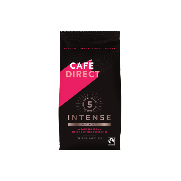 Cafedirect Intense Roast Ground Coffee 227g FCR0003