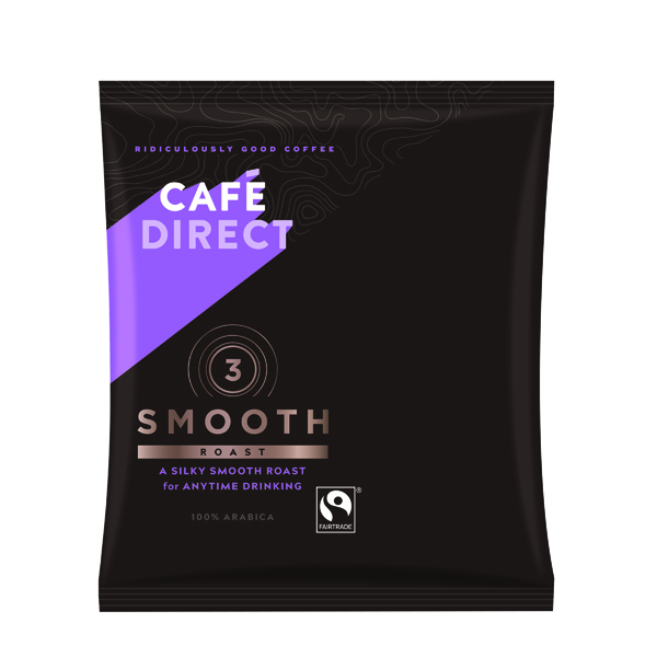 Cafedirect Smooth Roast Ground Coffee Sachet 60g (45 Pack) TW112015