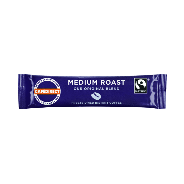 Cafedirect Smooth Roast Freeze Dried Coffee Sticks (250 Pack) TWI41023