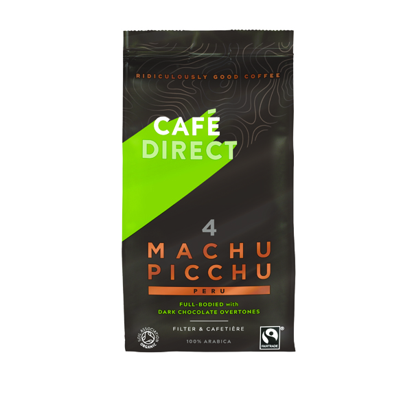 Cafedirect Machu Picchu Ground Coffee 227g Buy 2 Get FOC Advent Calendar GAL838124
