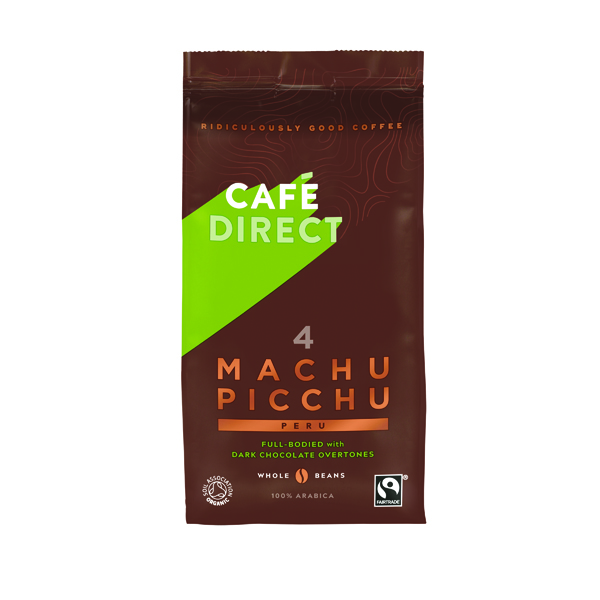 Cafedirect Machu Picchu Coffee Beans 227g Buy 2 Get FOC Advent Calendar GAL838125