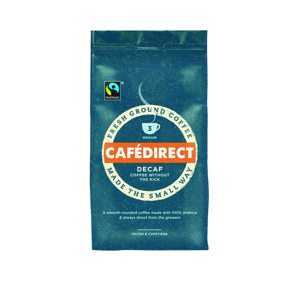 Cafedirect Roast Ground Decaffeinated Coffee 227g Buy 2 Get FOC Advent Calendar GAL838126