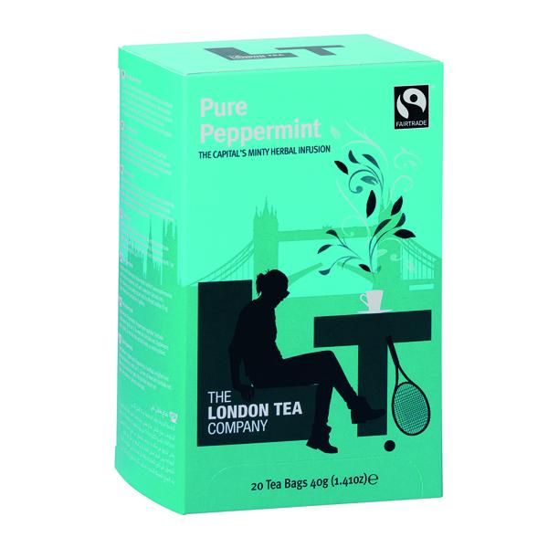 London Tea Peppermint Tea (20 Pack) FLT0002