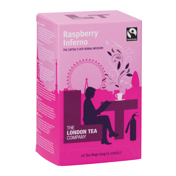 London Tea Raspberry and Chilli Tea (20 Pack) FLT0005