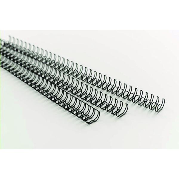 GBC MultiBind 12mm A4 130 Sheet Black Binding Wires (100 Pack) IB165320