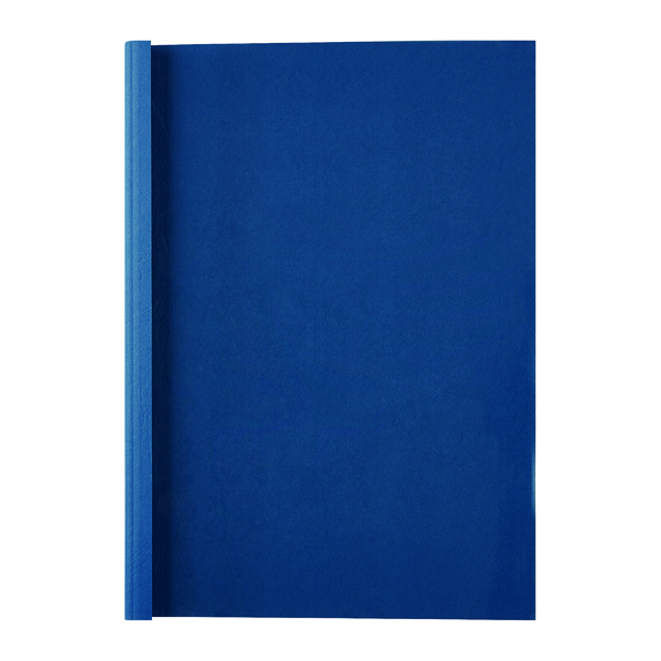 GBC LeatherGrain 1.5mm Royal Blue Thermal Binding Covers (100 Pack) IB451003
