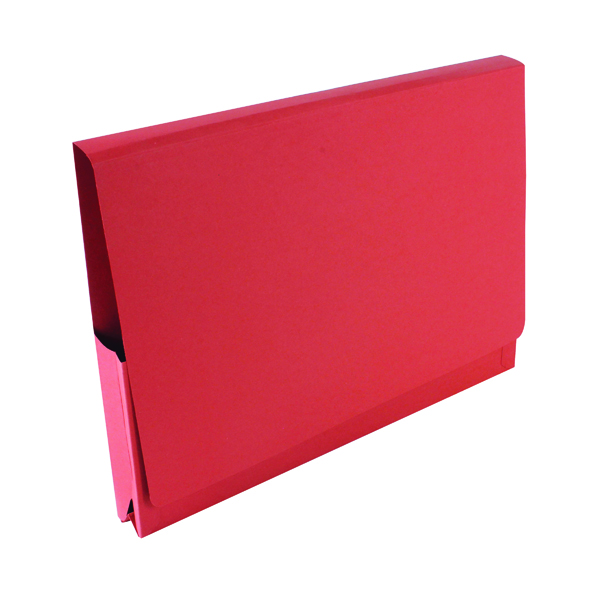 Guildhall Brief Size Pocket Wallet 14x10in Red (50 Pack) PW3-RED