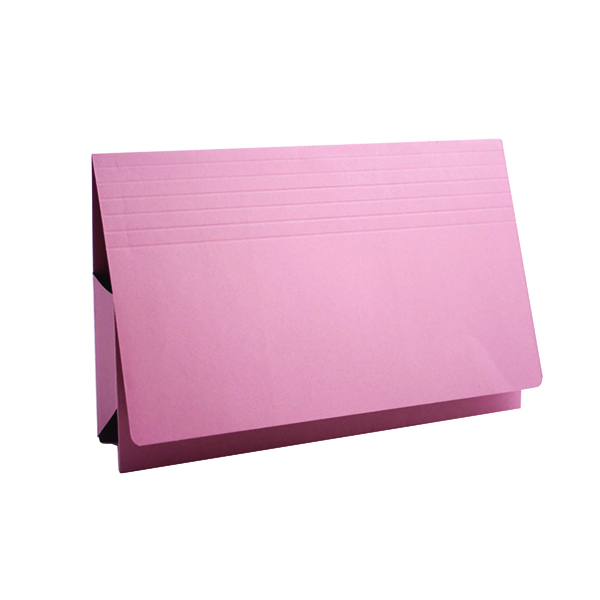 Exacompta Guildhall Probate Document Wallet 315gsm Pink (25 Pack) PRW2-PNK