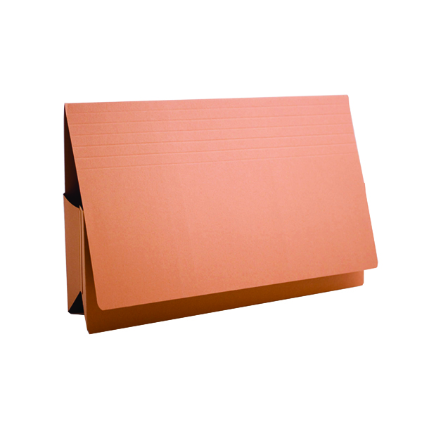 Exacompta Guildhall Probate Document Wallet 315gsm Orange (25 Pack) PRW2-ORG