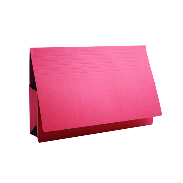Exacompta Guildhall Probate Document Wallet 315gsm Red (25 Pack) PRW2-RED