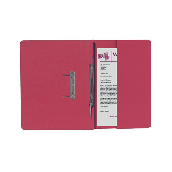 Exacompta Guildhall Right Hand Transfer Spiral Pocket File 315gsm Foolscap Orange (25 Pack) 211/9063Z