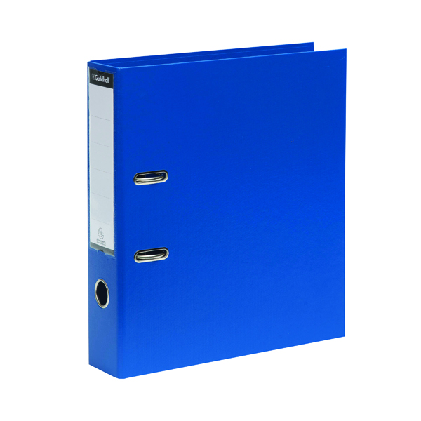 Guildhall 70mm Blue A4 Lever Arch File 222/2001Z