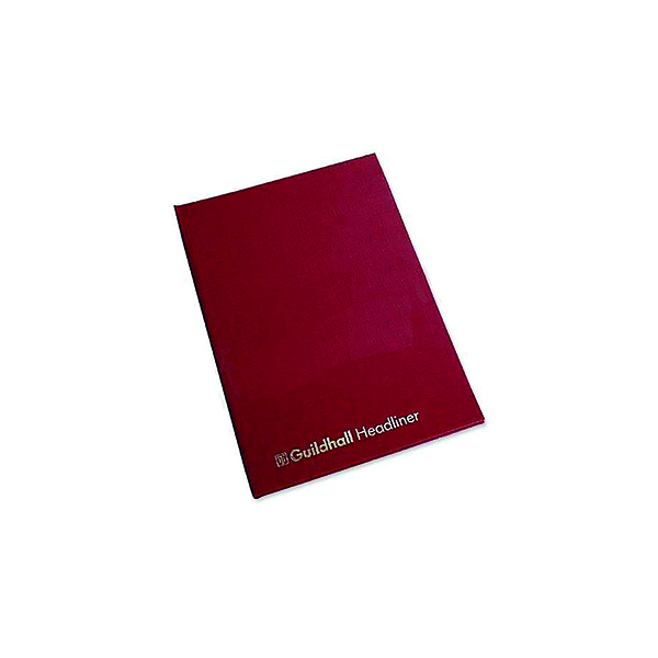 Guildhall 298x203mm Headliner Book 80 Pages 38 10 1149