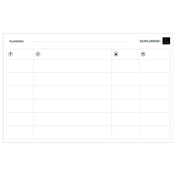 Exacompta Magnetic Team Planner 57170E
