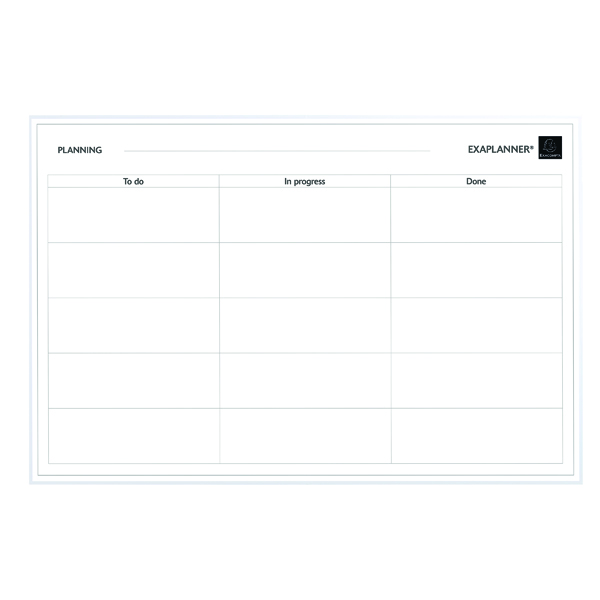 Exacompta Magnetic To Do List 57180E