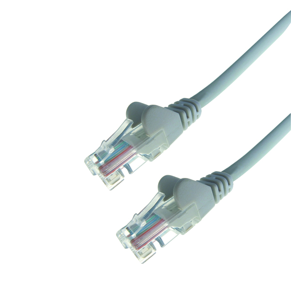 Connekt Gear Snagless Network Cable RJ45 Cat6 Grey 1m 31-0010G