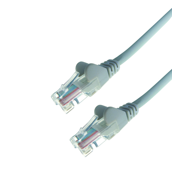 Connekt Gear Snagless Network Cable RJ45 Cat6 Grey 2m 31-0020G