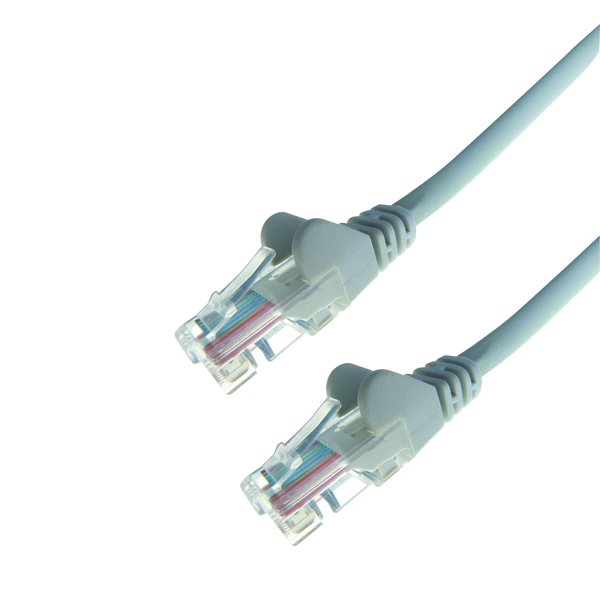 Connekt Gear Snagless Network Cable RJ45 Cat6 Grey 3m 31-0030G