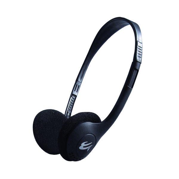 Computer Gear HP503 Economy Stereo Headset With In-Line Microphone 24-1503