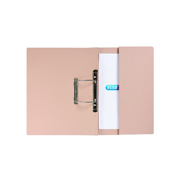 Elba Stratford Spring Pocket File 320gsm Foolscap Buff (25 Pack) 100090145