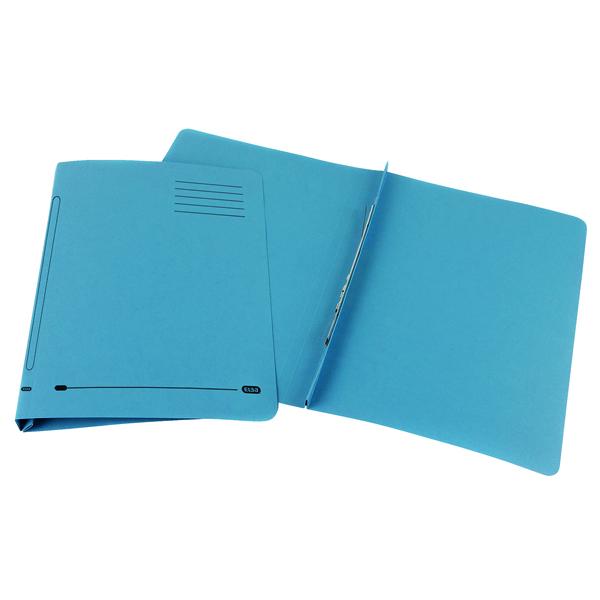 Elba Flat Bar File 20mm Capacity Foolscap Blue (25 Pack) 100090154