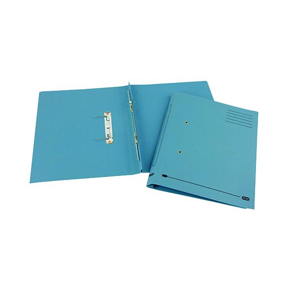 Elba Spirosort Spring Files Foolscap Blue (25 Pack) 100090159