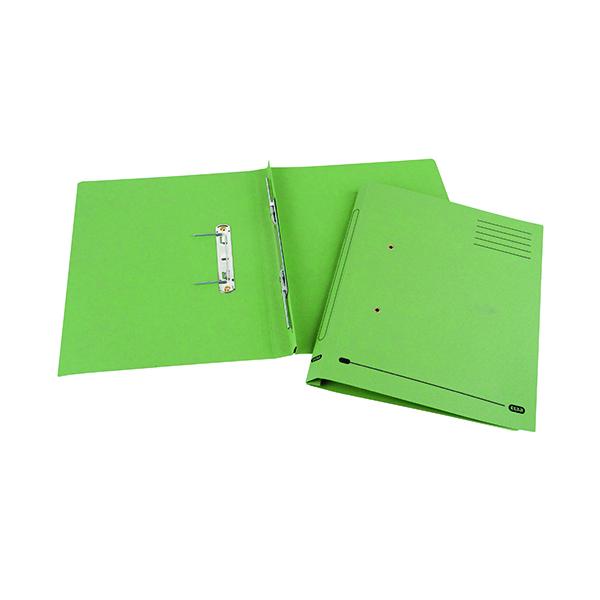 Elba Spirosort Spring Files Foolscap Green (25 Pack) 100090160