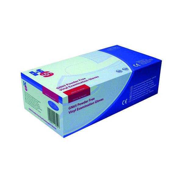 Handsafe Powder-Free XL Clear Vinyl Gloves (1000 Pack) HEA00317