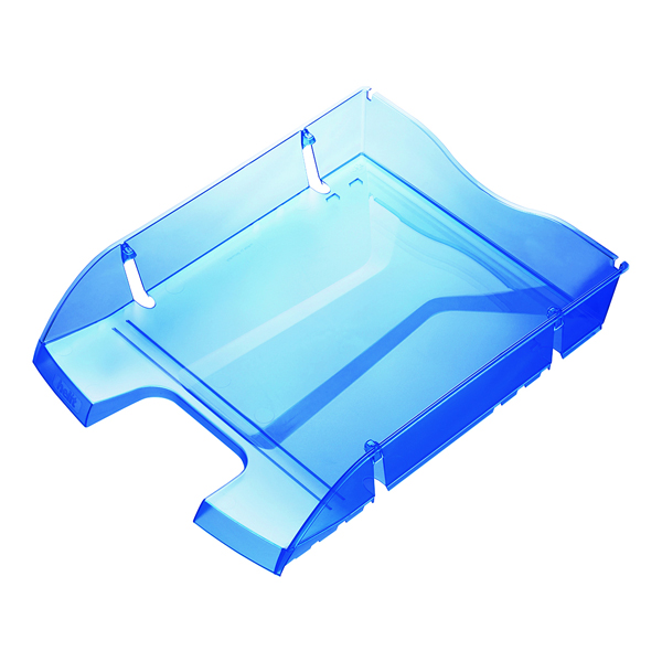 Helit Blue PET Recycled Letter Tray H2363530