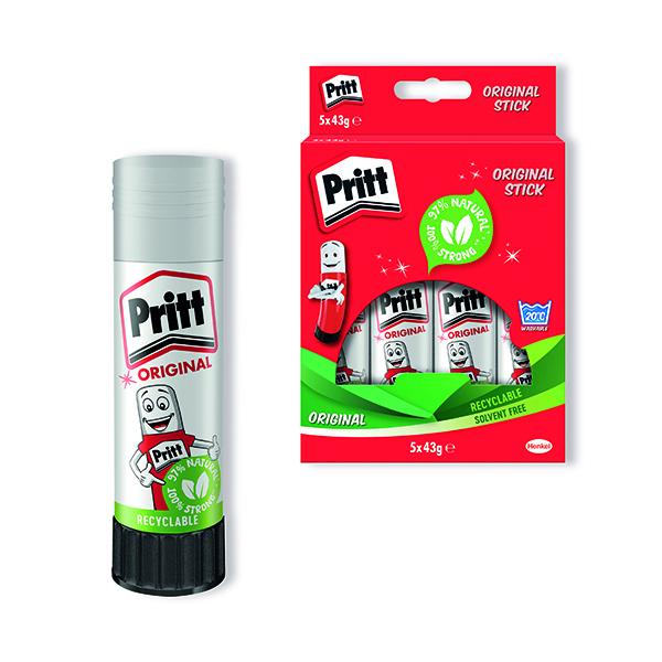 Pritt Stick 43g (5 Pack) 1456072