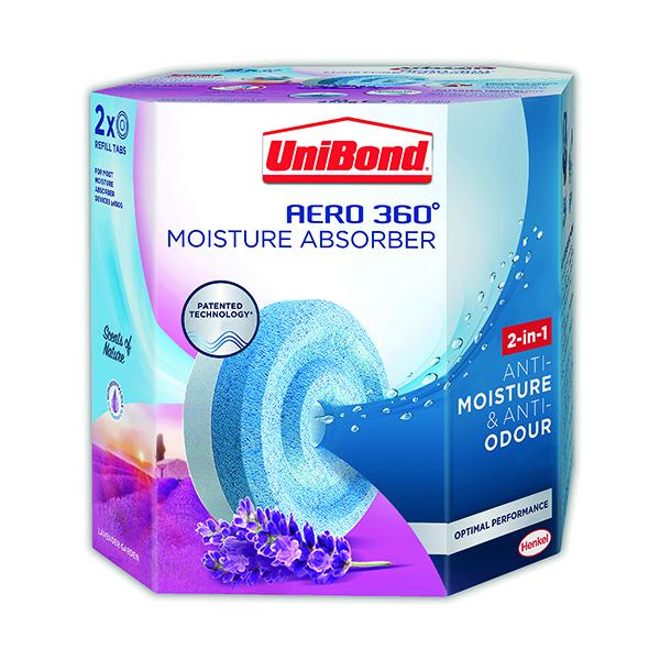 Unibond Aero 360 Lavender Garden Refills (2 Pack) 2631291