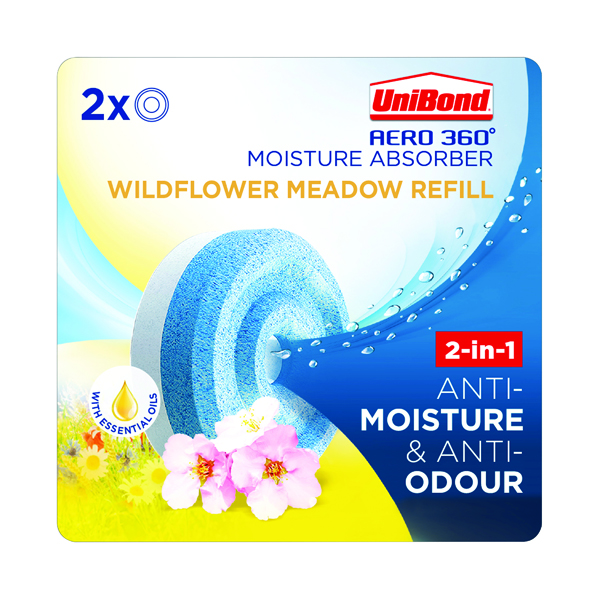 Unibond Aero 360 Wildflower Meadow Refill (2 Pack) 2631292