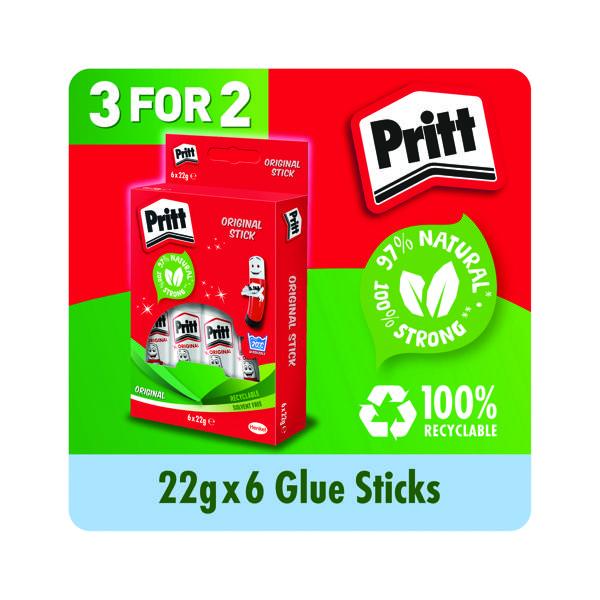 Pritt Stick 22g (6 Pack) Buy 2 Get 1 Free HK810937