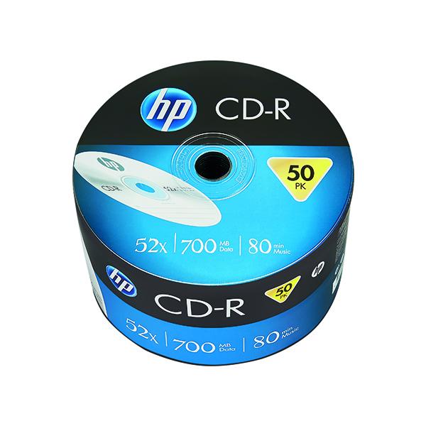 HP CD-R 52X 700MB Wrap (50 Pack) 69300