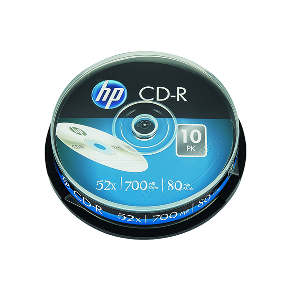 HP CD-R 52X 700MB Spindle (10 Pack) 69308