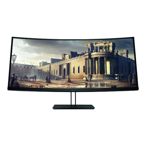 HP Z38c Ultra-Wide Quad HD+ Curved LED Display Black Z4W65A4#ABB