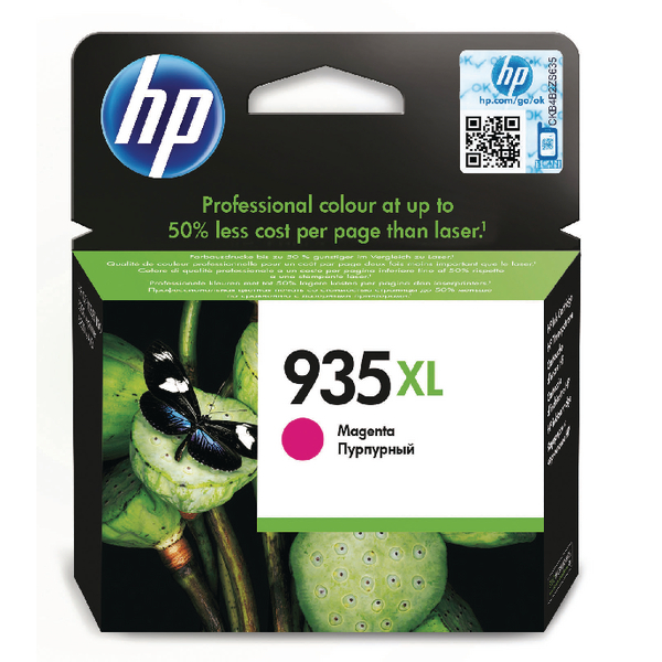 HP 935XL Magenta High Yield Ink Cartridge C2P25AE