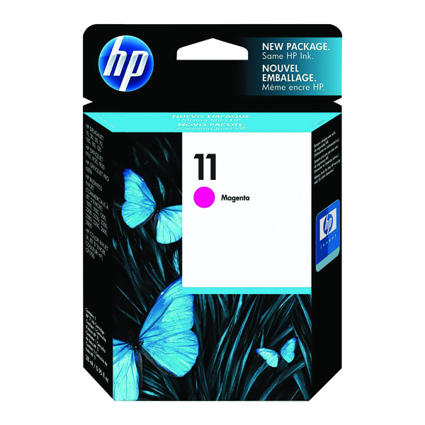 HP 11 Magenta Inkjet Print Cartridge C4837A