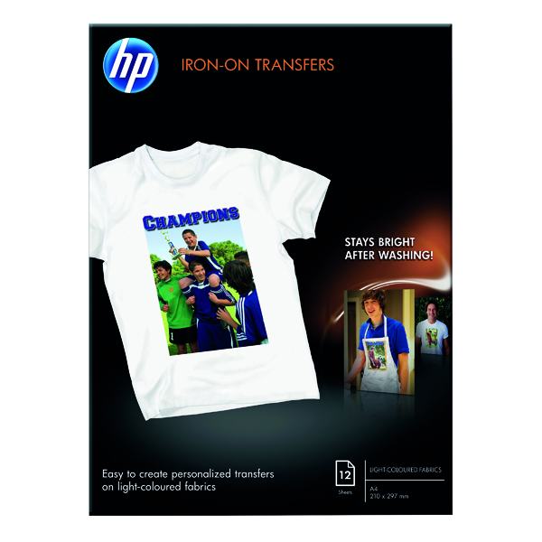 HP Iron-On A4 Transfer 170gsm (12 Pack) C6050A