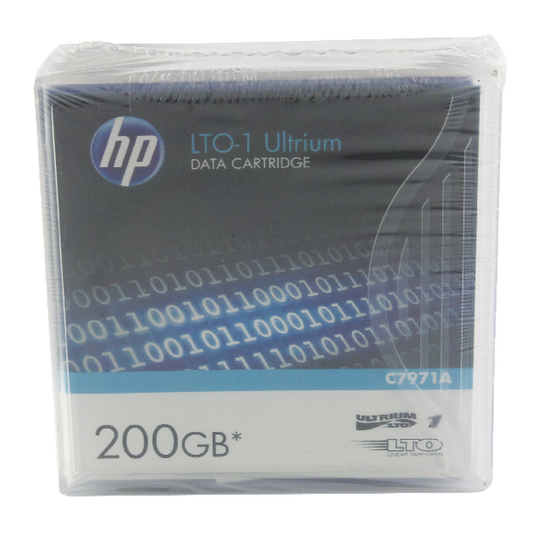 HP Ultrium LTO-1 200GB Data Cartridge C7971A