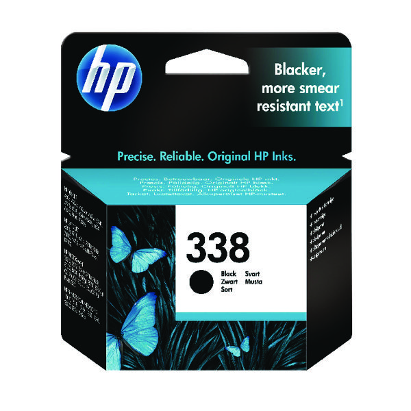 HP 338 Black Inkjet Cartridge C8765EE